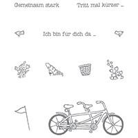 Gemeinsam stark Photopolymer Stamp Set (German)