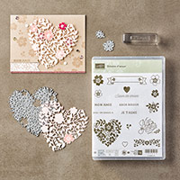 Éclosion d'amour Photopolymer Bundle (French) by Stampin' Up!