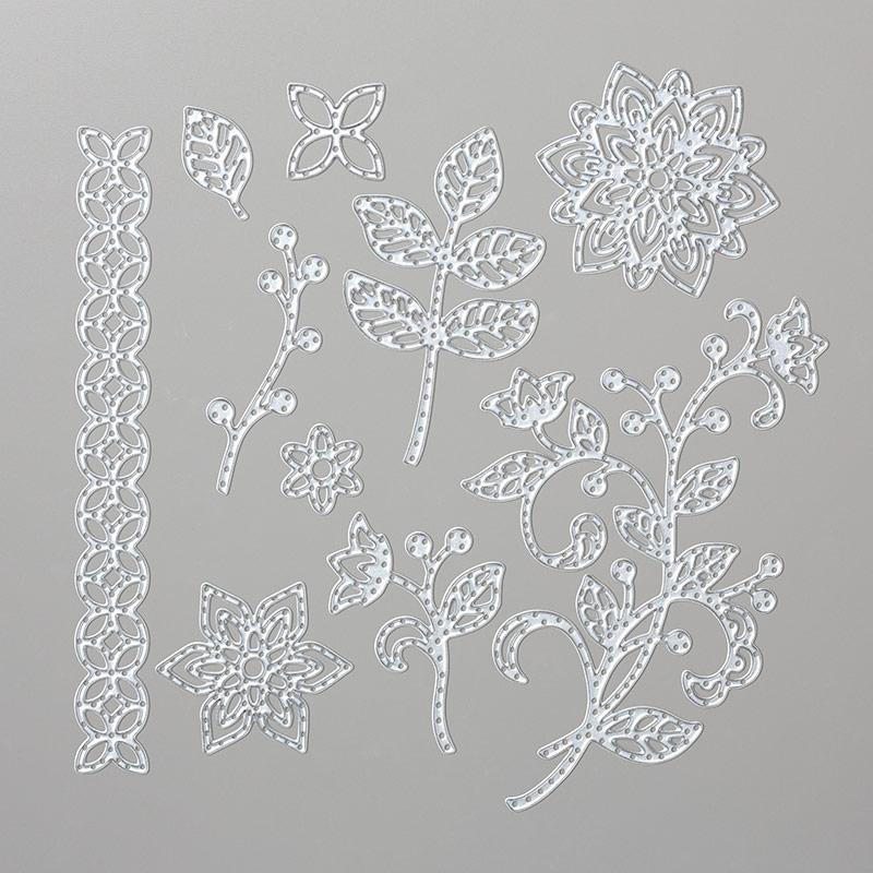Thinlits Blütenpoesie