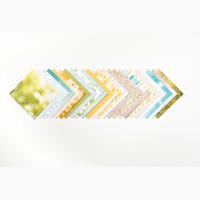 Bloc de papier de la série design paysage paisible
