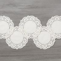 Delicate White Doilies