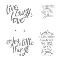 Set de Tampons Layering Love