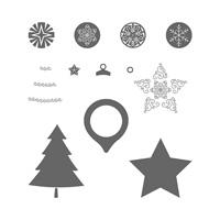 Set de tampons résine Festive Season
