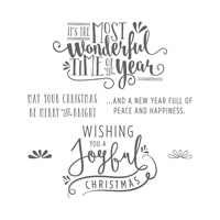 Wonderful Year Clear-Mount Stamp Set