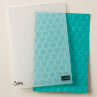 Hexagons Dynamic Textured Impressions Embossing Folder