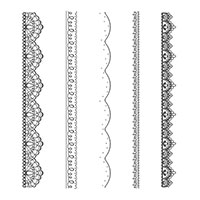 Delicate Details Photopolymer Stamp Set