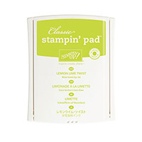 Lemon Lime Twist Classic Stampin' Pad