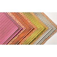 Papier de la série design spécialité frénésie métallisée