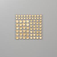 Gemmes à facettes or