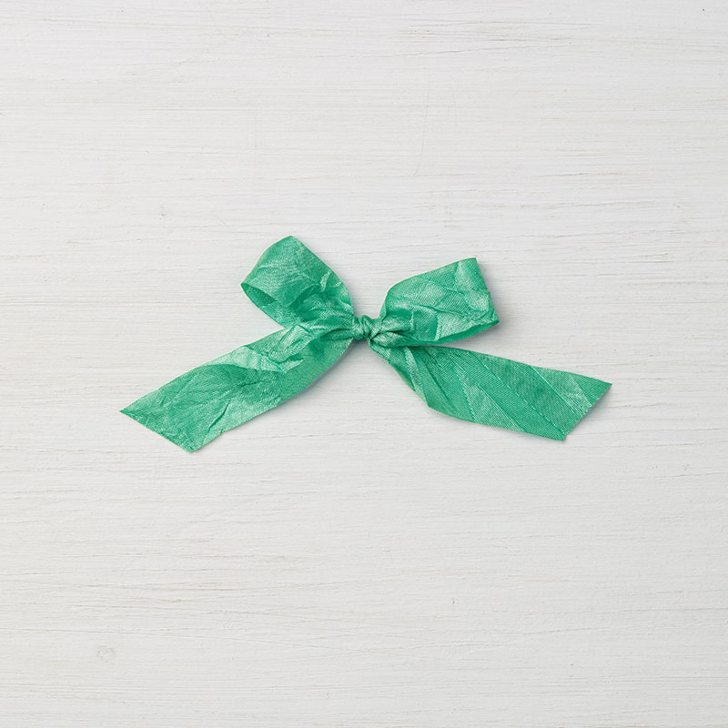 "5//8/"" Emerald Envy Crinkled Seam Binding Ribbon Stampin/' Up"