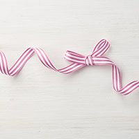 "Sweet Sugarplum 3/8"" Striped Grosgrain Ribbon"