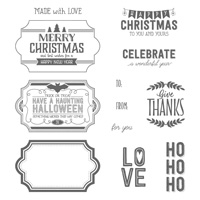Labels To Love Clear-Mount Stamp Set
