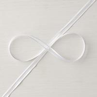"Whisper White 1/4"" (6.4 Mm) Organza Ribbon"