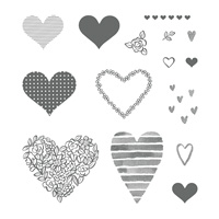 Heart Happiness Photopolymer Stamp Set