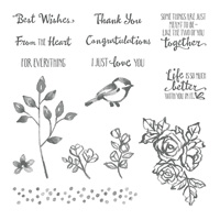 Petal Palette Clear-Mount Stamp Set
