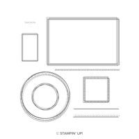 Swirly Frames Photopolymer Stamp Set