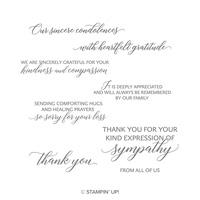 Kindness & Compassion Wood-Mount Stamp Set