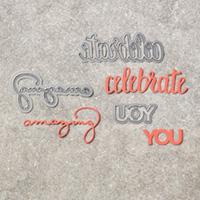 Celebrate You Thinlit Dies