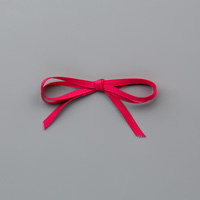 "Lovely Lipstick 1/8"" (3.2 mm) Grosgrain Ribbon"