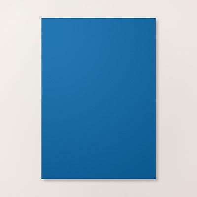 Blueberry Bushel A4 Cardstock