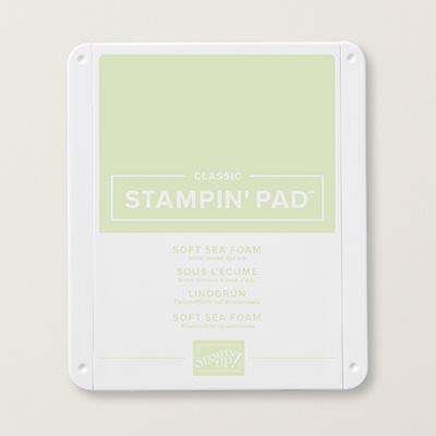 Soft Sea Foam Classic Stampin' Pad