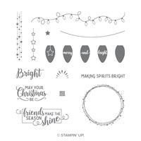 Making Christmas Bright Photopolymer Stamp Set