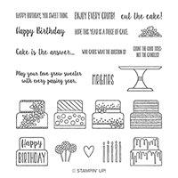 Piece Of Cake Photopolymer Stamp Set