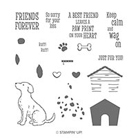 Happy Tails Photopolymer Stamp Set