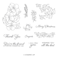 Blended Seasons Clear-Mount Stamp Set