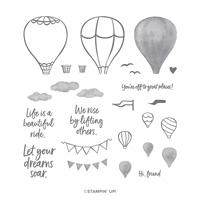 Above The Clouds Photopolymer Stamp Set