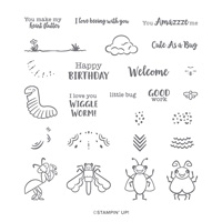 Wiggle Worm Photopolymer Stamp Set
