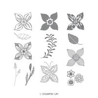 Pop Of Petals Cling-Mount Stamp Set