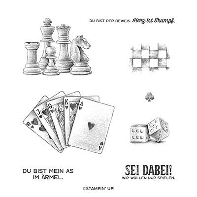 STEMPELSET ABLÖSBAR SPIEL & SPASS (DEUTSCH)