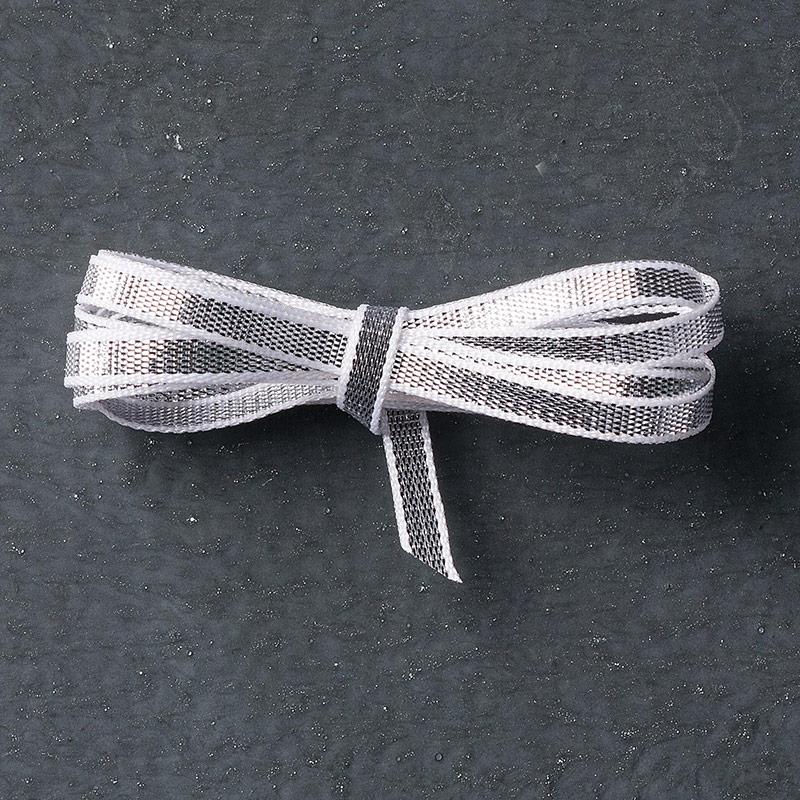 "Silver 1/8"" (3.2 Mm) Ribbon"