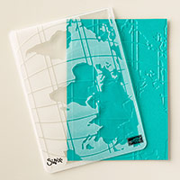 World Traveler Textured Impressions Embossing Folder by Stampin' Up!