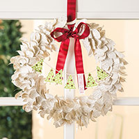 Saison à Kit Wreath projet par Stampin 'Up!