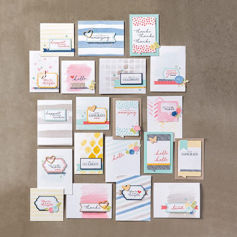 Video - Kartenset - Malerische Grüße 1