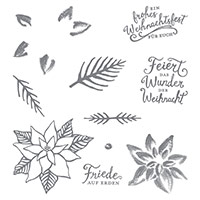 Weihnachtswunder Photopolymer Stamp Set (allemand)