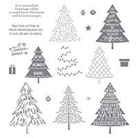 O Tannenbaum Photopolymer Stamp Set (allemand)