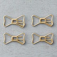 Bow Paper Clips Embellishments by Stampin' Up!