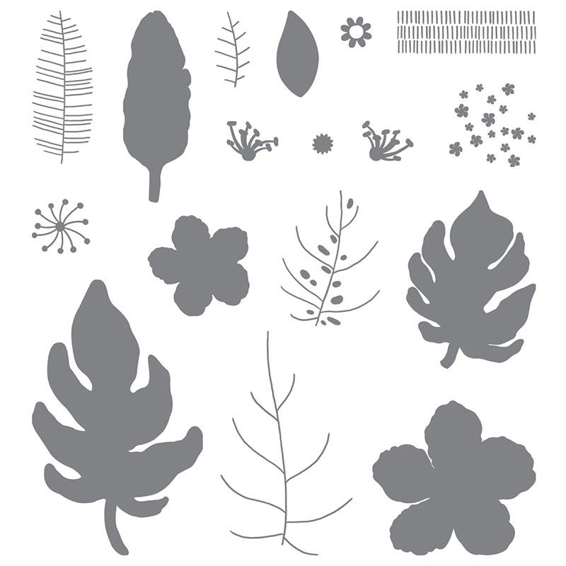 Botanical Blooms Photopolymer Stamp Set