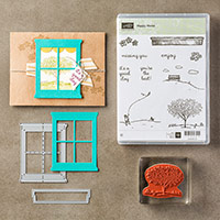 Happy Home Clear-Mount Bundle by Stampin' Up!