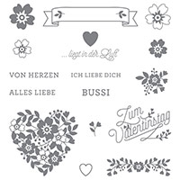 Blüten der Liebe Photopolymer Stamp Set (German) by Stampin' Up!