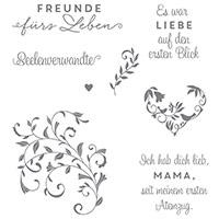 Auf den ersten Blick Clear-Mount Stamp Set (German)