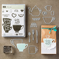 A Nice Cuppa Photopolymer Bundle by Stampin' Up!