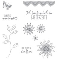 So dankbar Photopolymer Stamp Set (German)