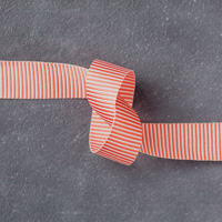 Watermelon Wonder 5/8 (1.6 cm) Mini Striped Ribbon