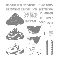 Sweet Cupcake Photopolymer Stamp Set