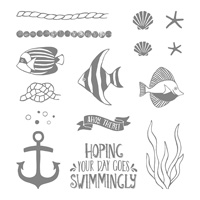 Seaside Shore Clear-Mount Stamp Set