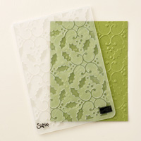 Holly Textured Impressions Embossing Folder